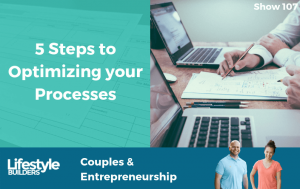 107 - 5 Steps to Optimizing your Processes