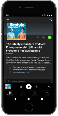 Lifestyle Builders Podcast Smart Phone - Primary